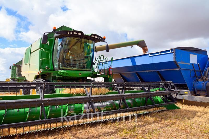 85% урожая собрано в Шортандинском районе Акмолинской области
