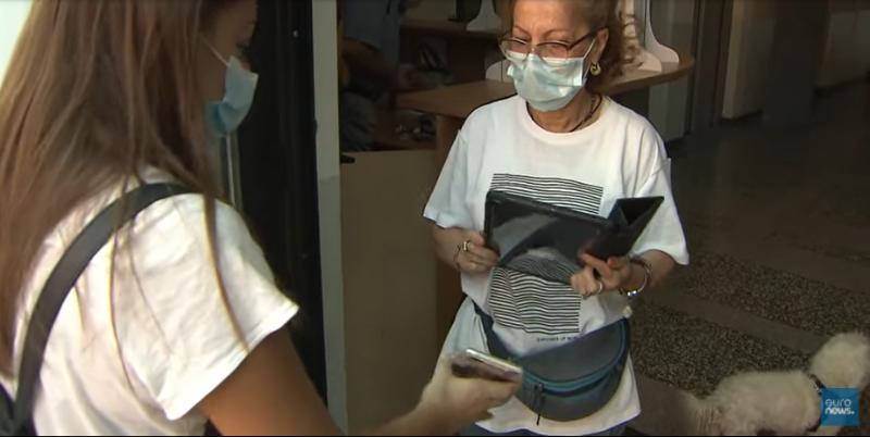 В Италии запретили приходить на работу без санитарного пропуска