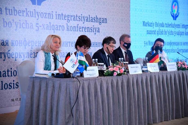 Тошкентда Марказий Осиёда тубуркулёзга қарши кураш масалаларига бағишланган 5- халқаро конференция бўлиб ўтмоқда