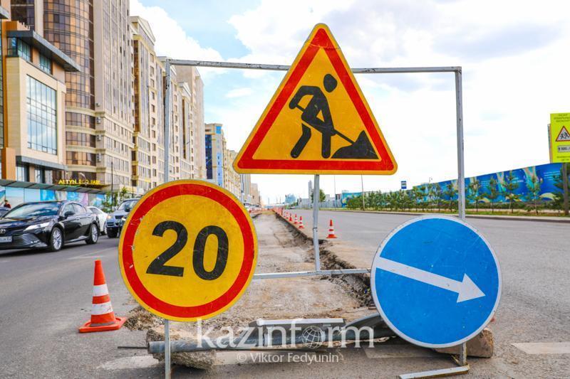Almatyda ortalyq kóshelerdiń biri ishinara jabylady