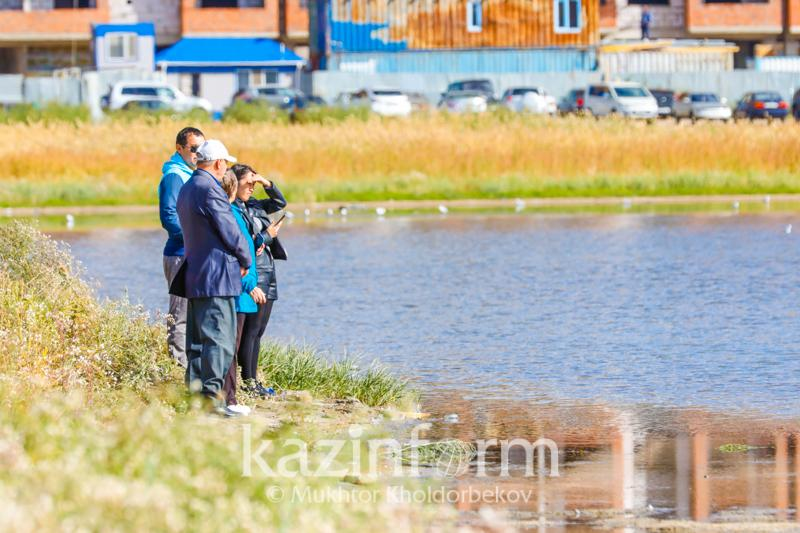 Жители столицы проведут субботник на территории озера Малый Талдыколь