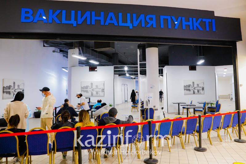 Коронавирус: Алматыда бір тәулікте 7,2 мың адам вакцина алды