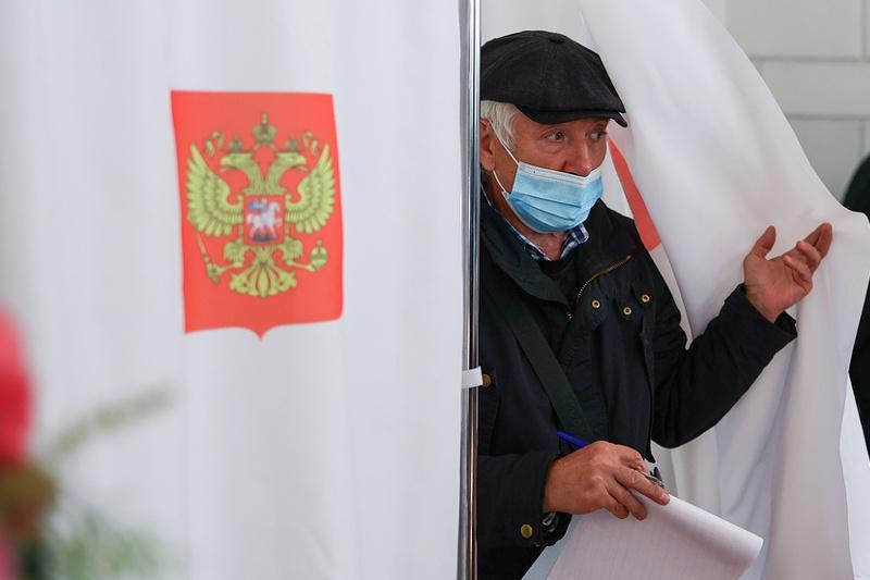 В России стартовали выборы депутатов Госдумы восьмого созыва