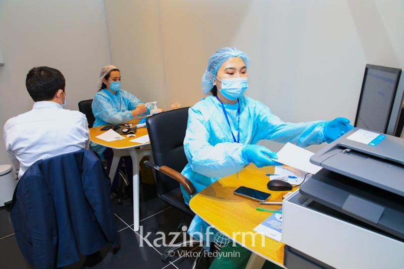 Қызылордалықтардың 72,7 пайызы вакцинаның бірінші компонентін алды