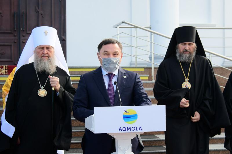В Кокшетау состоялось открытие православного храма