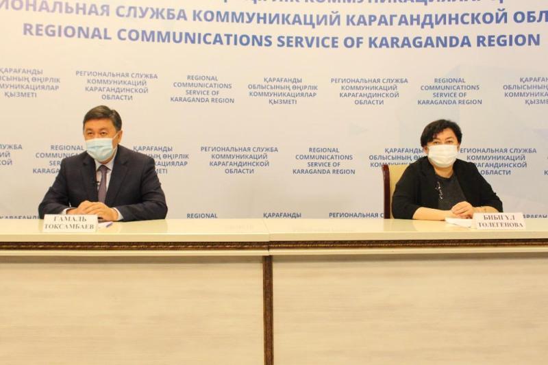 Прирост заболеваемости КВИ снижается в Карагандинской области