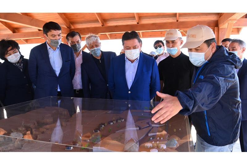 Аскар Мамин посетил с рабочей поездкой Алматинскую область