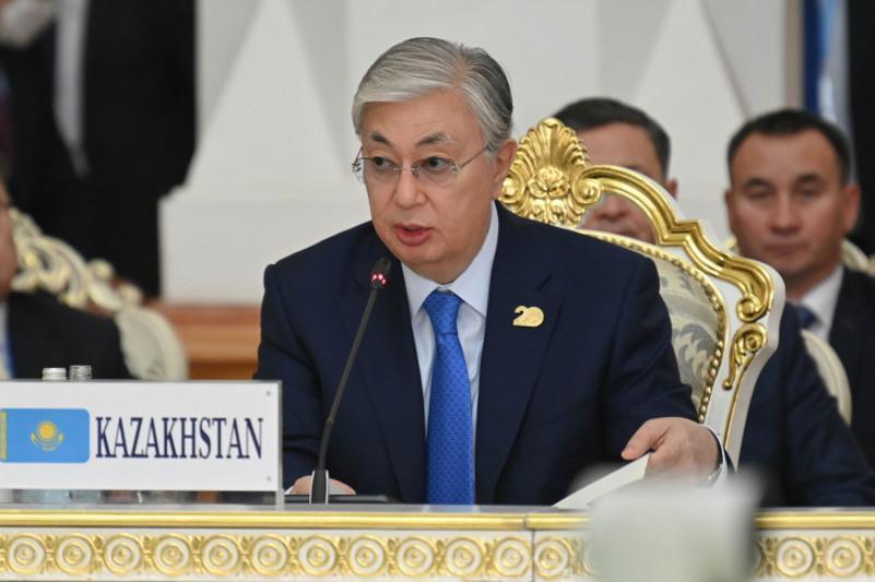 托卡耶夫总统出席集安组织和上合组织成员国领导人联合峰会