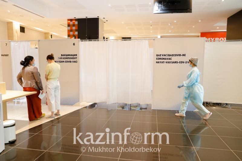 В Алматы рассказали о темпах вакцинации