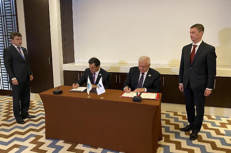 ЕЭК и Секретариат ШОС подписали меморандум о взаимопонимании