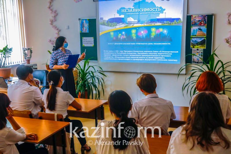 Оқу  жылы басталғаннан бері оқушылардың шамамен 1 пайызы коронавирус жұқтырды - БҒМ