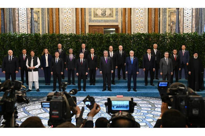视频:托卡耶夫总统出席上合组织成员国国家元首理事会会议