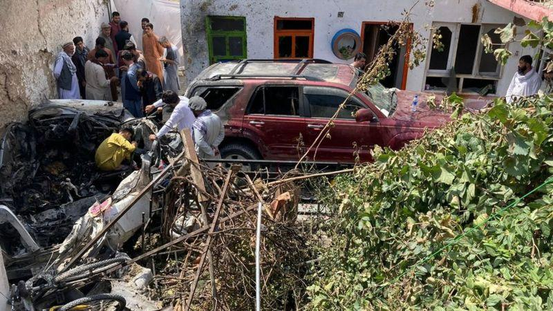 Ракетный удар по семье афганцев в Кабуле был трагической ошибкой, признали в США