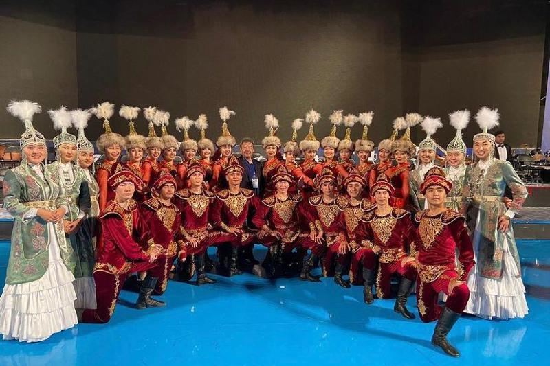 Душанбеда «Қазақконцерт» артистлари чиқиш қилишди