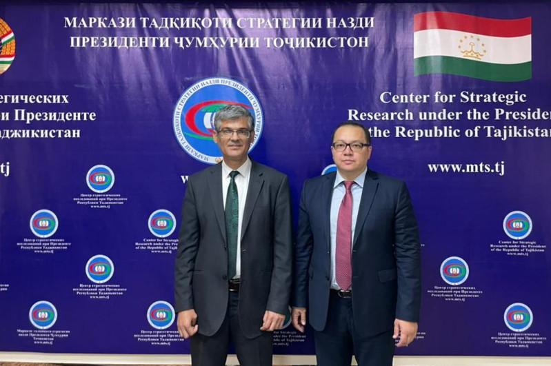 В Душанбе прошли политические консультации глав аналитических структур МИД Казахстана и Таджикистана