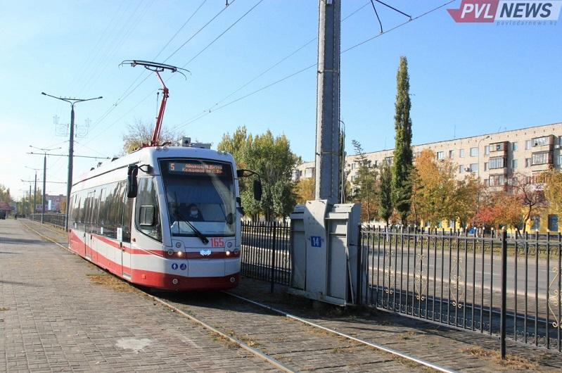 Трамвай загорелся на ходу в Павлодаре