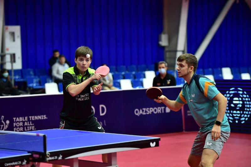 Дуэт Герасименко и Курмангалиева вышел в финал «2021 ITTF Kazakhstan International Open»