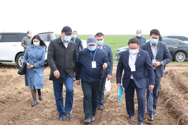 Глава Минсельхоза посетил с рабочей поездкой Павлодарскую область