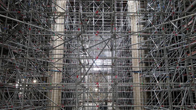 Париждегі Нотр-Дам шіркеуін реставрациялау алдағы қыста басталады