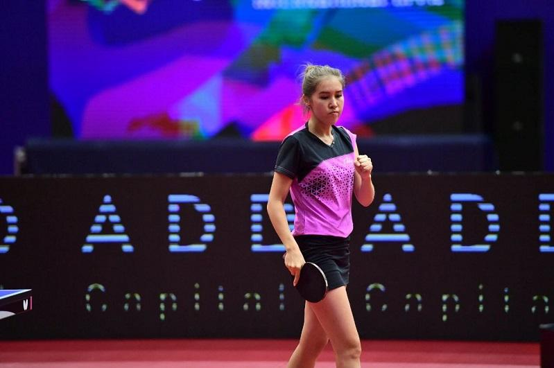 Айя Алимбаева выиграла «бронзу» 2021 ITTF Kazakhstan International Open