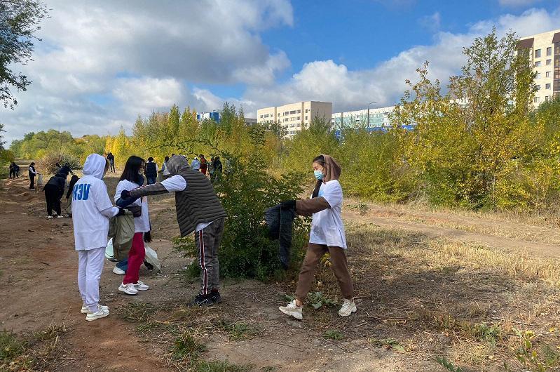 Около 25 тысяч человек вышли на экосубботник в Карагандинской области