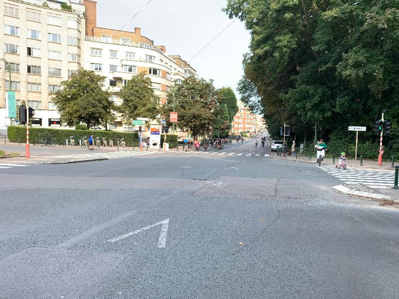 «Воскресенье без автомобиля» - на дорогах Брюсселя остались только пешеходы и велосипедисты
