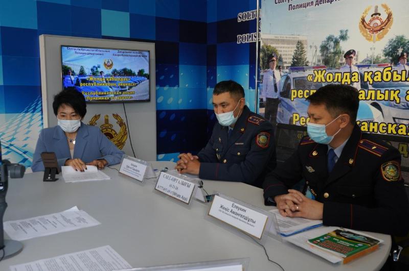 СҚО полицейлері «Жолда қабылдау» акциясында 150-ден астам сұраққа жауап берді