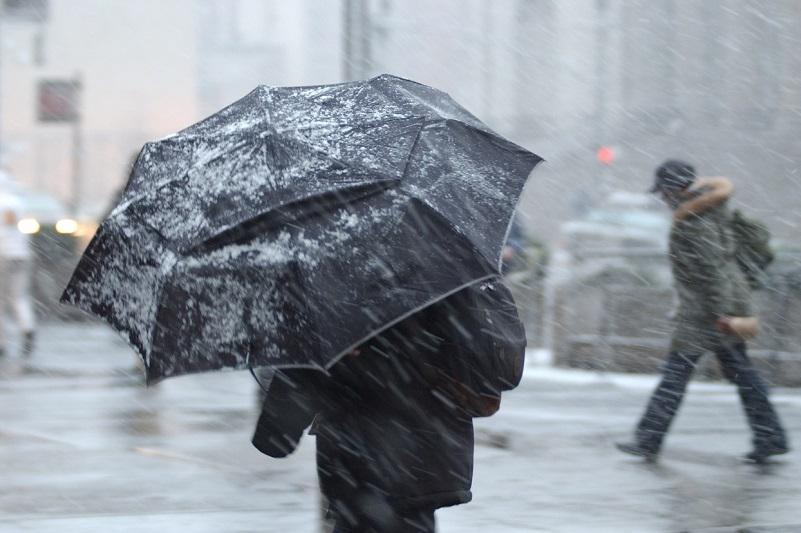 Дождь с переходом в снег, заморозки ожидаются на большей территории Казахстана