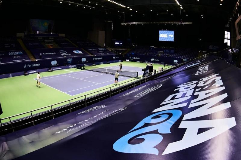 Международный турнир по теннису Astana Open покажут в прямом эфире