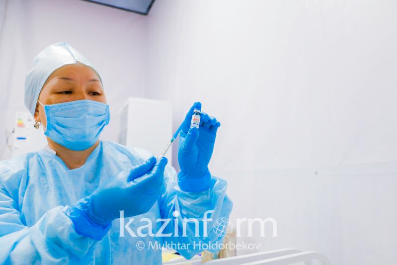Over 7.3 mln Kazakhstanis vaccinated with 1st component