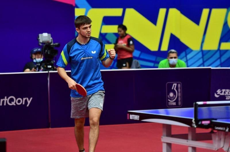 哈萨克斯乒乓球公开赛:格拉斯门科荣获一枚金牌