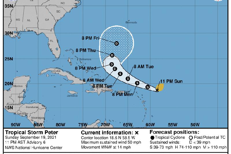 Новый ураган сформировался в Атлантическом океане