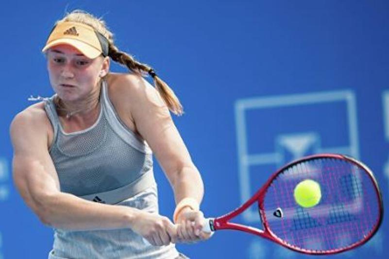 Kazakhstan's Rybakina climbs in latest WTA singles ranking