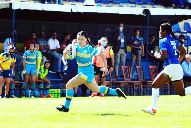 Казахстанские регбистки стали третьими на чемпионате Азии U-18