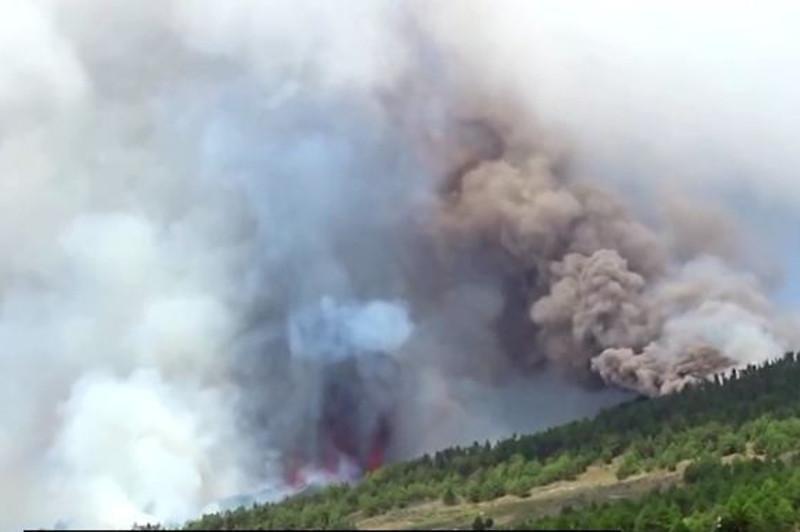 Канар оролларида вулқон отилиши: 5000 киши эвакуация қилинди