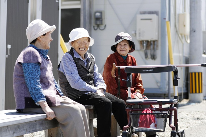 Seniors account for record 29.1% of Japan's population