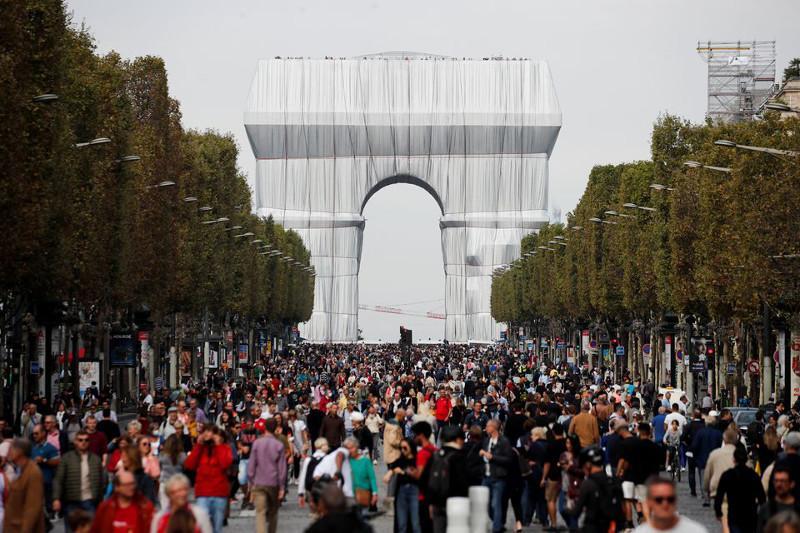 Парижде автомобильсіз күн өтті