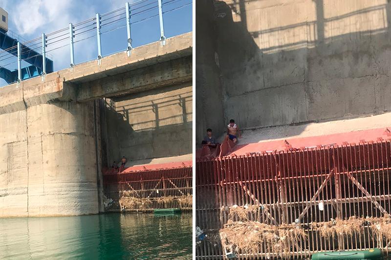 Двух человек спасли на Капшагайском водохранилище