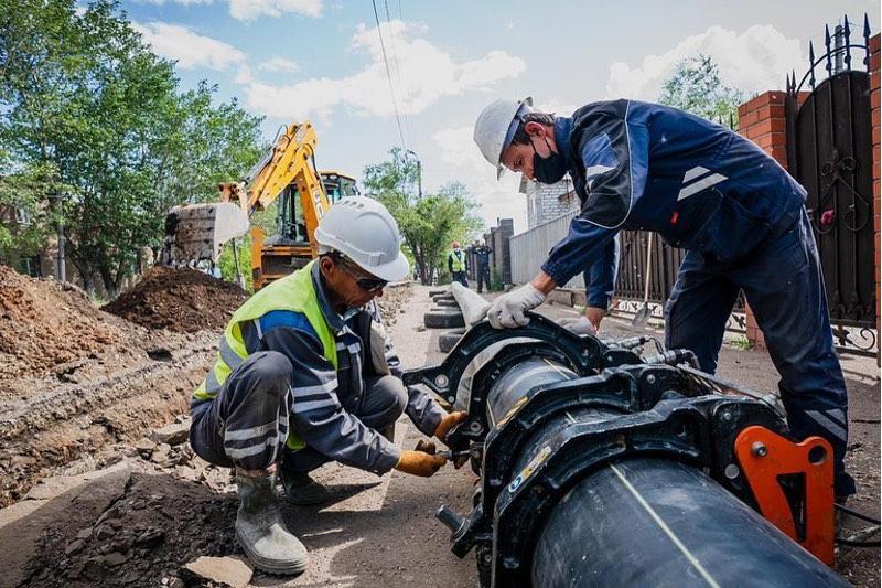 645 км сетей газоснабжения построено в Нур-Султане