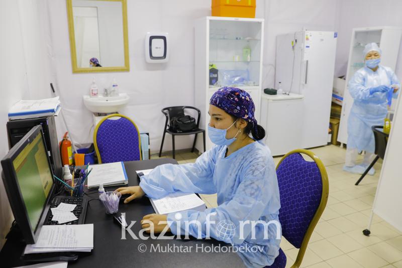 Атырау облысында екі күнде 1264 адам вакцина салдырды