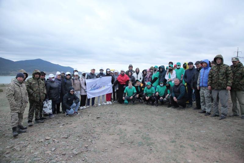 Экоакцию к Всемирному дню туризма провели в Акмолинской области
