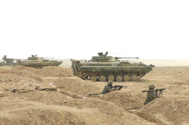 Проверка боеготовности Сухопутных войск проходит в Казахстане