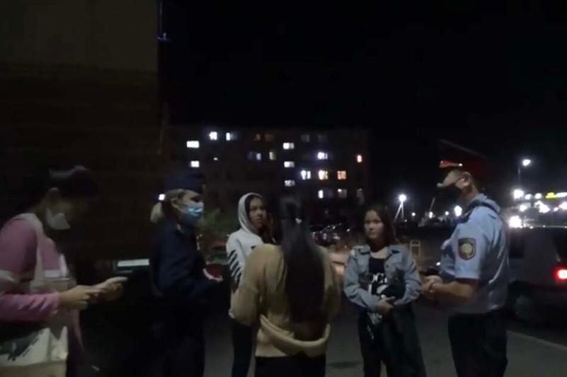 265 жамбылдық жасөспірім полиция жеткізілді