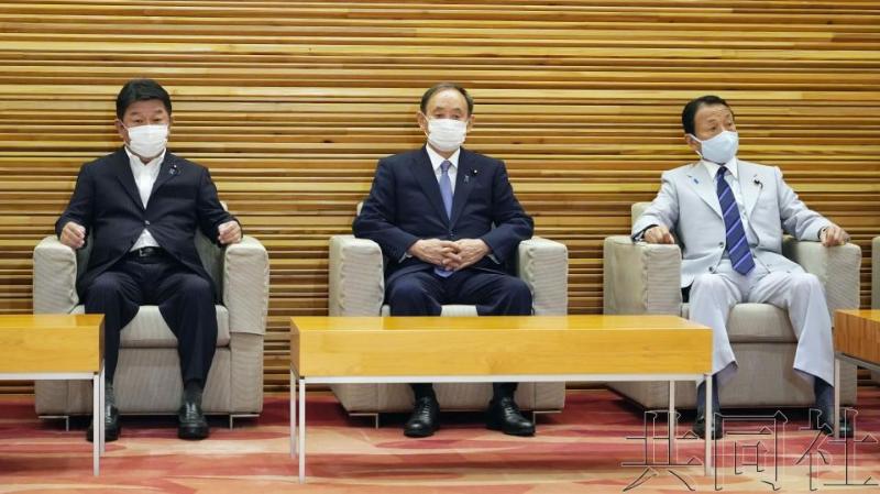 日本国会将于下月举行会议选出新任首相
