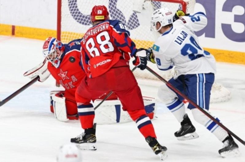 «Барыс» сыграет на своем льду с московским ЦСКА