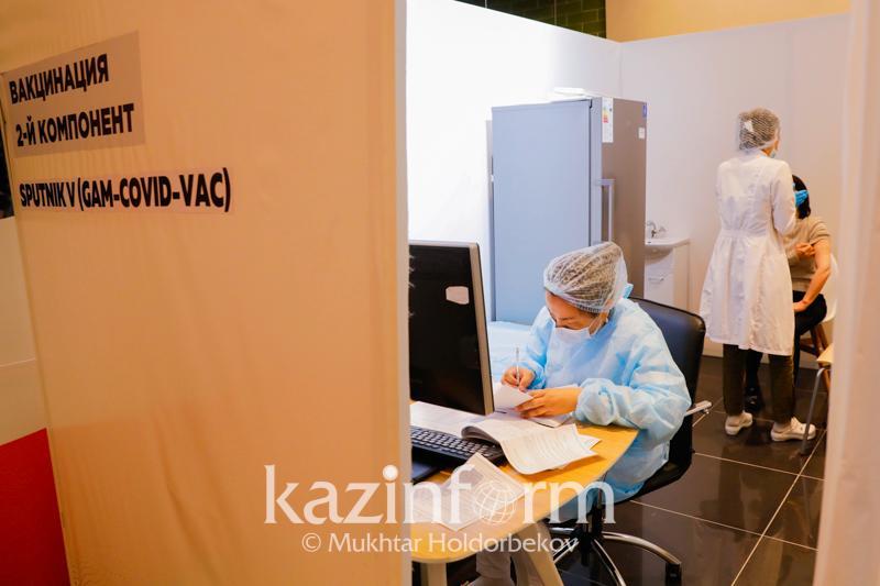 Второй компонент вакцины от коронавируса получили 823 тысячи алматинцев