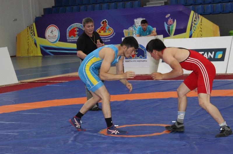 Чемпионат Казахстана по вольной борьбе u-23 завершился в Талдыкоргане