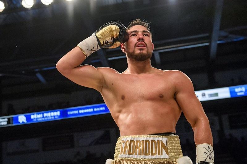 Садриддин Ахмедов вернулся к тренировкам после травмы