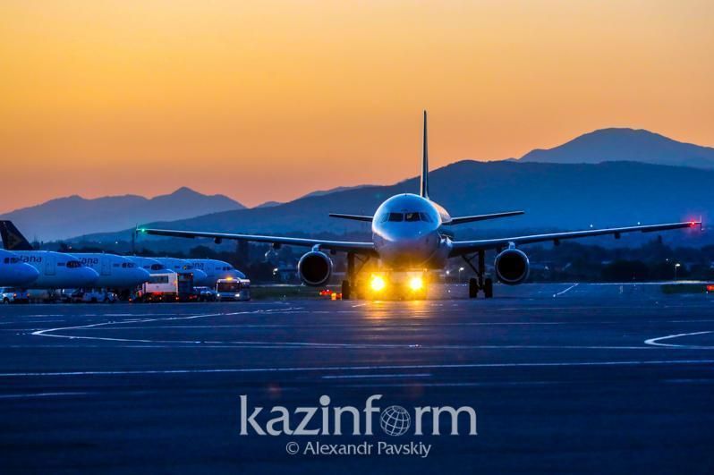 20日共有38个国际航班入境哈国