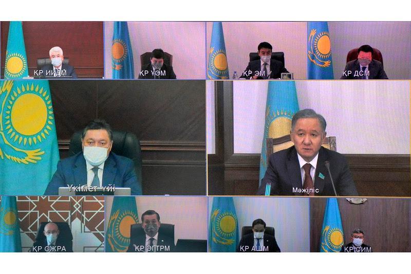 Аскар Мамин провел заседание Национальной комиссии по модернизации